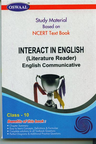 English Reader Class 10 Class 10 Int in English