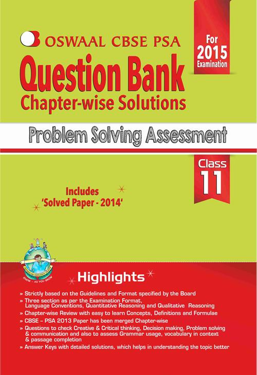 problem solving assessment ix