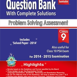 Problem solving assessment class 9 hand book