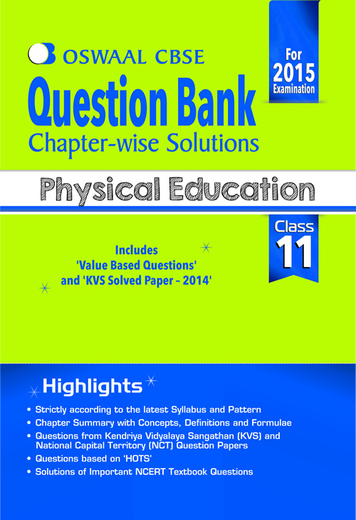Oswaal cbse question bank chapter wise solutions for class 11 oswaal cbse question bank chapter wise solutions for class 11 physical education malvernweather Image collections
