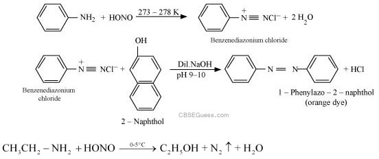 Benzylamine and aniline can be distinguished by bromine water